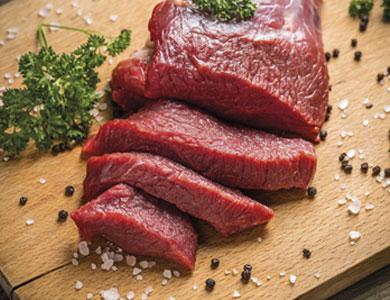 Viande au détail